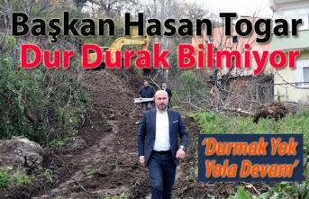 Başkan Hasan Togar'dan Yoğun Hafta Sonu Mesaisi