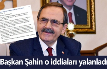 Başkan Şahin başka partiden aday olacak mı? cevap verdi!