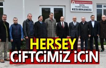 Başkan Şahin, Karadeniz'in En Modern mezbahanesinde