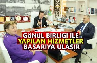 Başkan Tok Türkiye Muhtarlar Konfederasyonunu Ağırladı