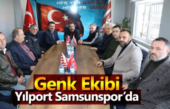Genk ekibi Yılport Samsunspor'da