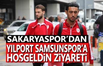 Sakaryaspor yönetiminden Yılport Samsunspor'a hoşgeldin ziyareti