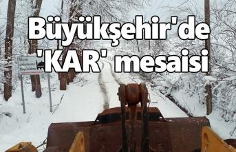 Samsun'da kar alarmı!