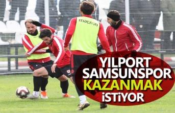 Yılport Samsunspor kazanmak istiyor