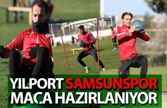 Yılport Samsunspor, kuvvet çalıştı