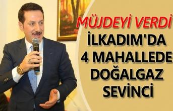 Anadolu, Zeytinlik, Hastane ve Kadıköy doğalgaza kavuşuyor