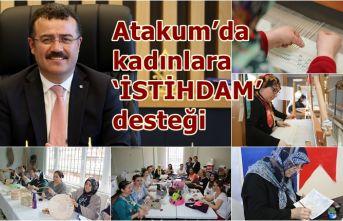 Atakum'da kadına büyük değer veriliyor