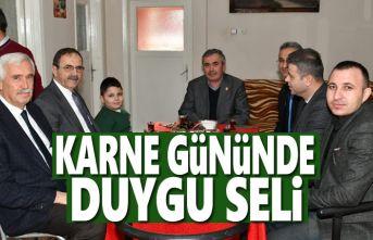 Başkan Zihni Şahin, hasta öğrencileri unutmadı