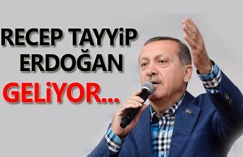 Cumhurbaşkanı Erdoğan Samsun'a geliyor