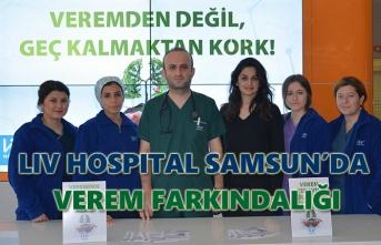 Liv Hospital Samsun'da verem farkındalığı