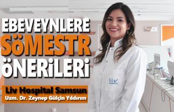 Liv Hospital Samsun'dan Ebeveynlere Sömestr Önerileri