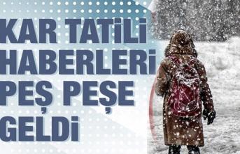 Samsun'da kar tatili olan okullara yenileri eklendi!