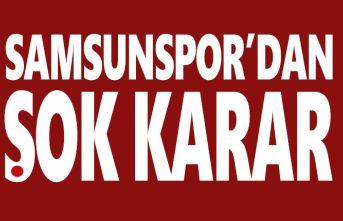 Samsunspor taraftarına ve basına giriş yasağı