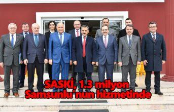 SASKİ, 1.3 milyon Samsunlu'nun hizmetinde
