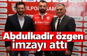 Yılport Samsunspor, Abdulkadir Özgen ile 1.5 yıllık sözleşme imzaladı.