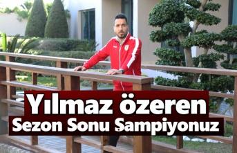 Yılport Samsunsporlu Yılmaz Özeren: İkinci yarı her maç final