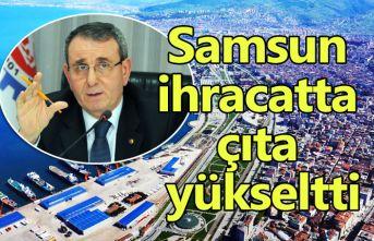Başkan Murzioğlu: Samsun ihracatta çıta yükseltti