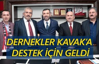 Başkan Sarıcaoğlu'na SADEF ve SAMKON'dan destek