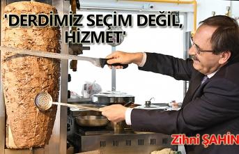 Başkan Zihni Şahin'den Atakum esnafına Garanti!