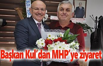 Başkan Kul'dan MHP'ye ziyaret