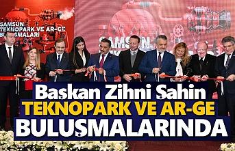 Başkan Şahin, Teknopark ve Ar-Ge buluşmalarında konuştu