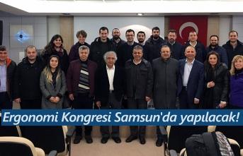 Ergonomi Kongresi Samsun'da yapılacak!