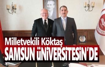 Milletvekili Köktaş: Samsun Üniversitesi girişimcilere öncülük edecek
