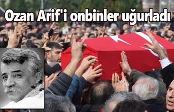 Ozan Arif'i Samsun'da onbinler uğurladı