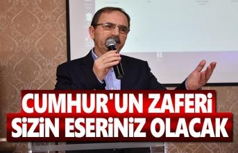 Başkan Şahin, Atakum'da Sandık Görevlileri'ne seslendi