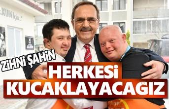 Başkan Şahin'den Atakum'da Sosyal Belediyecilik Projeleri