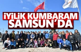 Başkan Şahin, İstanbul'dan gelen İyilik Melekleri'ni ağırladı