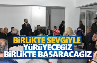 Başkan Şahin, Kardelen Sitesi sakinleriyle buluştu