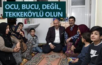 Hasan Togar: Tekkeköy'ü kimse bölemez