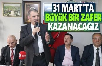 Milletvekili Köktaş, 31 Mart'ta Büyük Zafer Kazanacağız