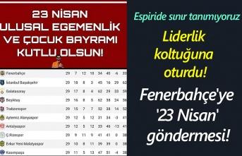 Fenerbahçe'ye '23 Nisan' göndermesi!