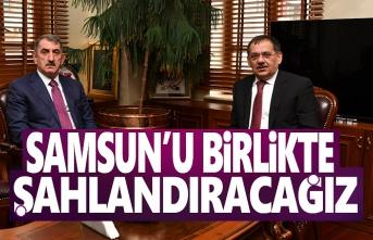 Köktaş'tan Başkan Demir'e Hayırlı olsun Ziyareti