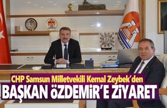Milletvekili Kemal Zeybek'den Başkan Özdemir'e ziyaret