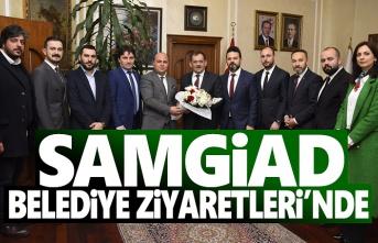 Samgiad Belediye Tebrik Ziyaretleri'nde