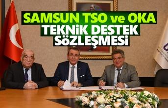 Samsun TSO ile OKA teknik destek sözleşmesi imzalandı