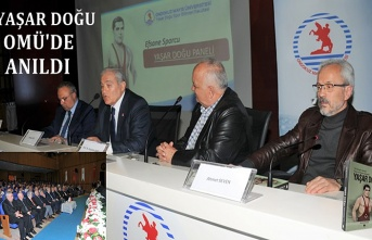 Türk Güreşi'nin sembolü Yaşar Doğu OMÜ'de panelle anıldı