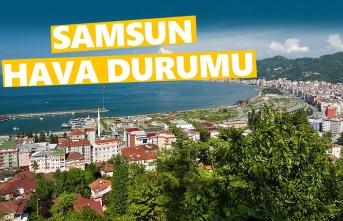 5 Mayıs Pazar Samsun da Hava Durumu!