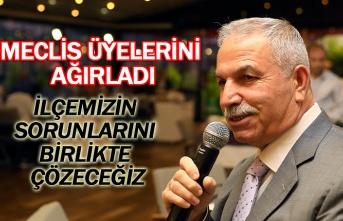 Başkan Demirtaş, meclis üyelerini ağırladı