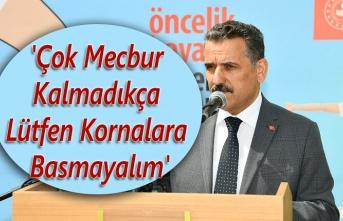 Samsun Valisi Osman Kaymak sürücüleri uyardı