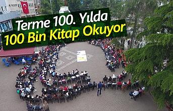 Terme 100. Yılda 100 Bin Kitap Okuyor