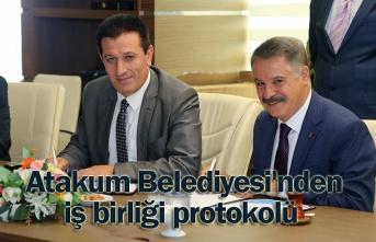 Atakum Belediyesi'nde denetimli serbestlik işbirliği