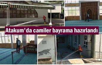 Atakum Belediyesi'nden bayram temizliği