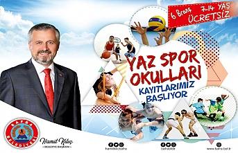 Bafra Yaz Spor Okulları Kayıtları Devam ediyor