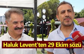 Haluk Levent Atakum'da konser sözü verdi!
