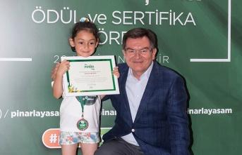 Resim yarışmasının Karadeniz Bölgesi kazananı Samsun'dan