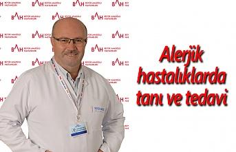 Alerjik hastalıklarda tanı ve tedavi